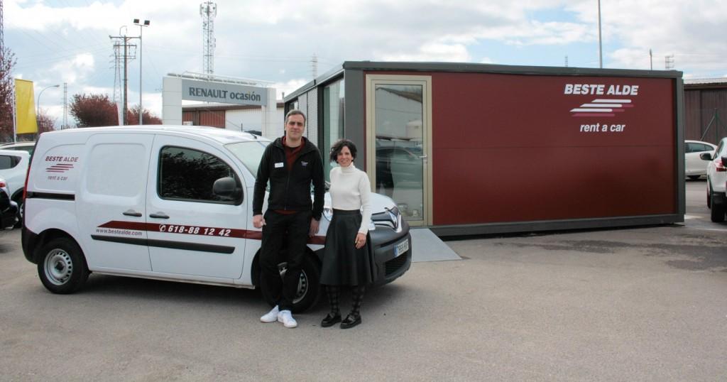 Inauguramos nueva oficina en vitoria alquiler de coches for Alquiler de oficinas en bilbao