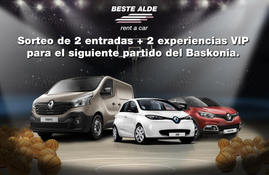 Experiencia Gaursa Rent a Car Baskonia